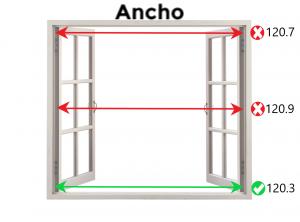Midiendo el Ancho